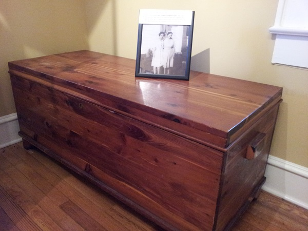 Miss Kate's cedar chest