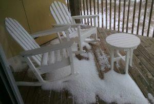 Snow on the Beach?