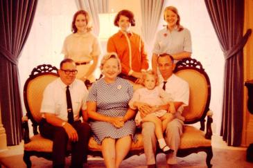 John Bell Williams and daughter with my family in 1967.7wih