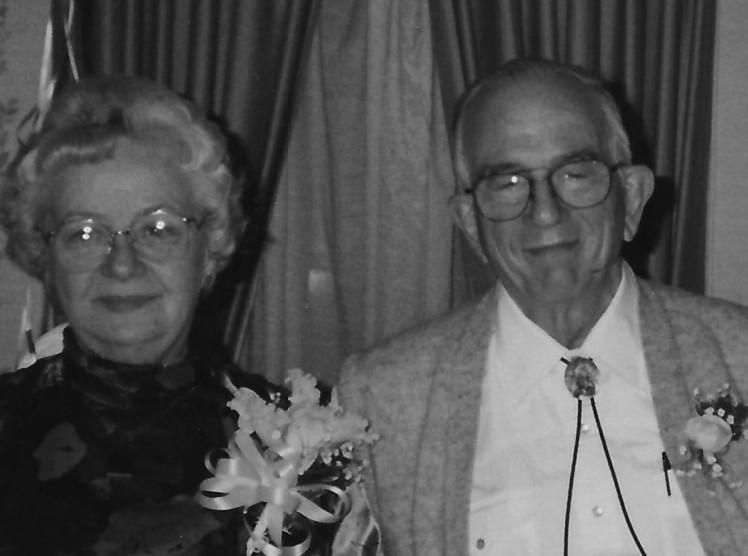 Moma and Daddy at 50th Anniversar