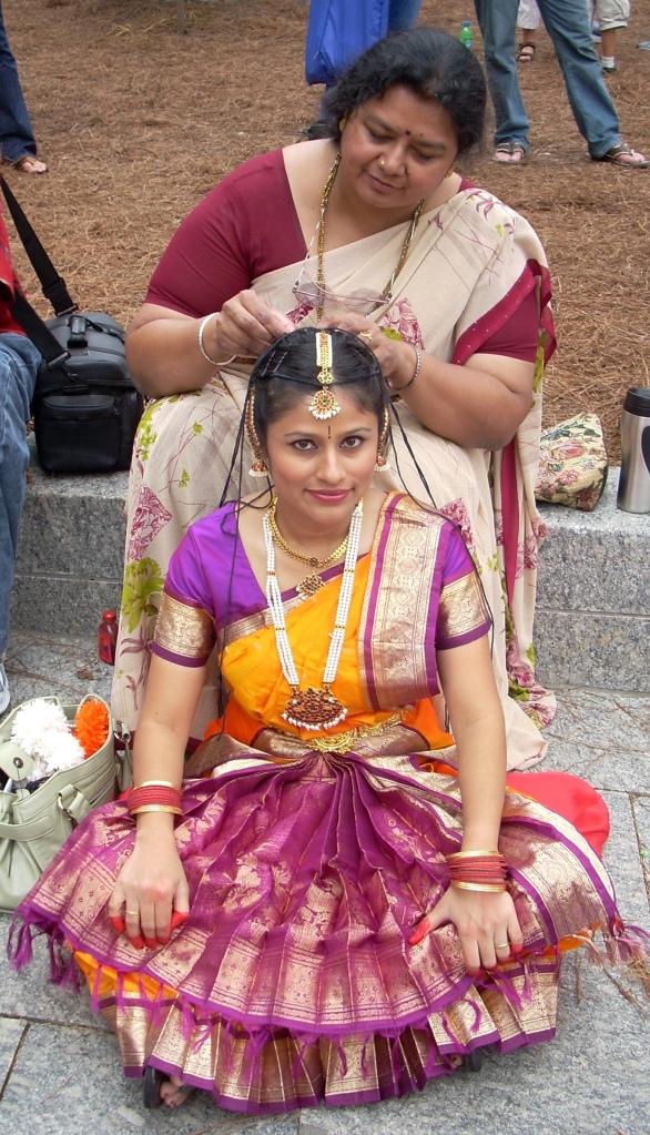 Beautiful Diwali Dancer
