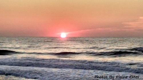 Sunrise at Top Sail Beach.