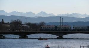 The Alps above Zurich