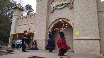 Renaissance Fair Belly Dancers