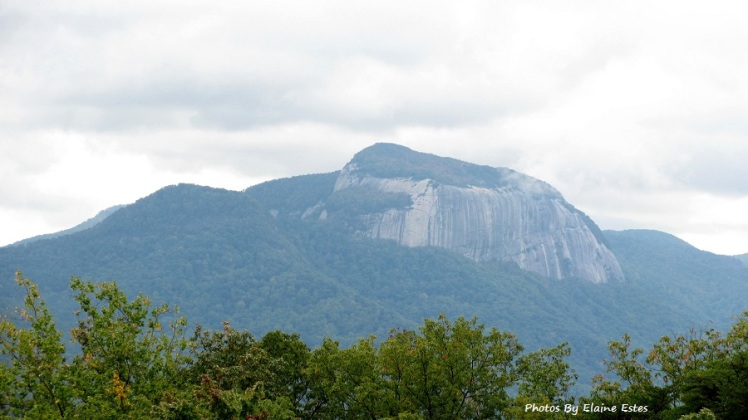 Table Rock, NC as seen from SC.