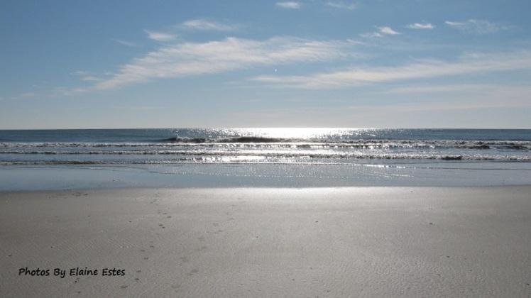 Sunshine, ocean and sand!