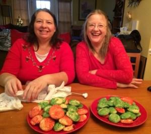 Two Buddies at Christmas