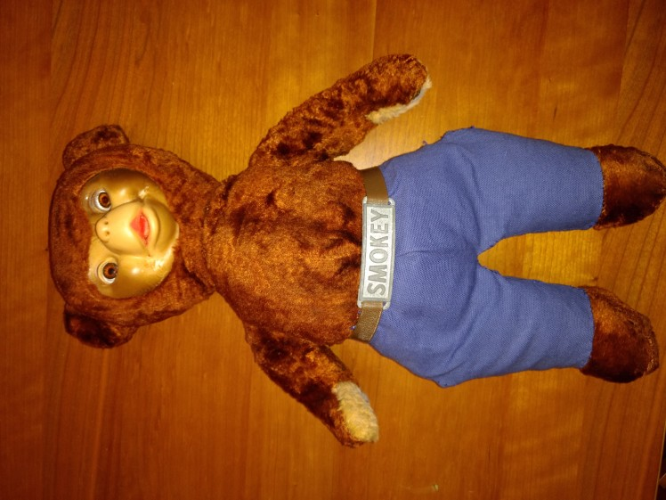 1950's Smokey the Bear teddy bear