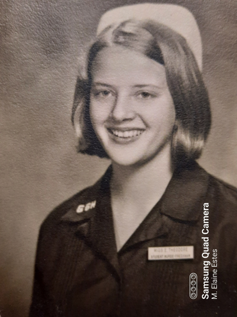 Me, student nurse about in 1970